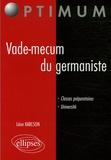 Léon Karlson - Vade-mecum du germaniste.