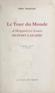 Léon Negruzzi et  McGrew - Le tour du monde d'Hippolyte-Louis Dupont-Lafraisse - L'allée des peupliers.