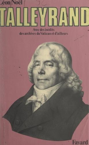 Énigmatique Talleyrand