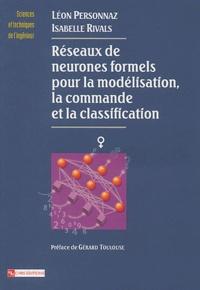 Réseaux de neurones formels pour la modélisation, la commande et la classification - Léon Personnaz | Showmesound.org