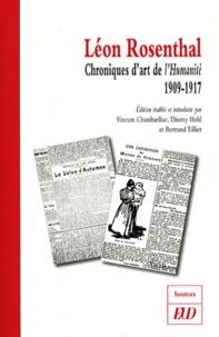 Léon Rosenthal - Chroniques d'art de l'Humanité (1909-1917).