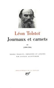 Journaux et carnets - Tome 2, Les années 1890 à 1904.pdf