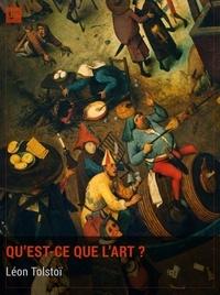 Léon Tolstoï et  Teodor de Wyzewa - Qu'est-ce que l'art ? - La vision de l'art de Tolstoï.