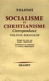 Léon Tolstoï - Socialisme et christianisme - Correspondance.