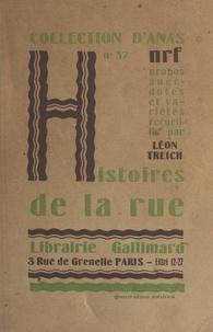 Léon Treich - Histoires de la rue.