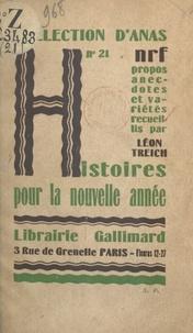 Léon Treich - Histoires pour la nouvelle année.