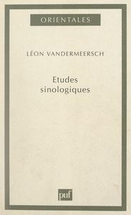 Léon Vandermeersch et François Jullien - Études sinologiques.