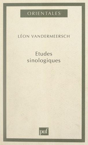 Études sinologiques