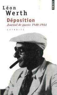 Léon Werth - Déposition - Journal 1940-1944.