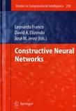 Leonardo Franco et David A Elizondo - Constructive Neural Networks.