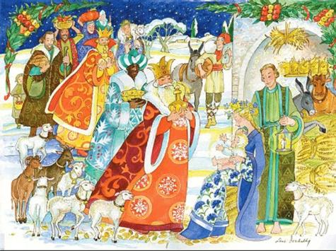 Léone Berchadsky - Noël de joie - Calendrier de l'Avent.