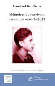 Rhonealpesinfo.fr Mémoires du survivant des camps nazis A-5672 Image