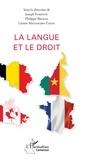 Léonie Métangmo-Tatou et Philippe Briand - La langue et le droit.