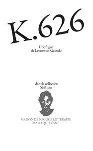 Léonor de Récondo - K 626.