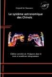 Léopold de Saussure - Le système astronomique des Chinois - avec 19 figures dans le texte et nombreux sinogrammes.