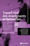 Léopold Paquay et Philippe Perrenoud - Travail réel des enseignants et formation - Quelle référence au travail des enseignants dans les objectifs, les dispositifs et les pratiques ?.