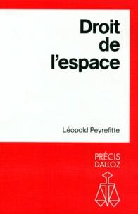 Léopold Peyrefitte - Droit de l'espace.