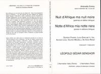 Léopold Sédar Senghor - Nuit d'Afrique ma nuit noire.