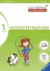 Lern-Detektive: Konzentration (1. Klasse).