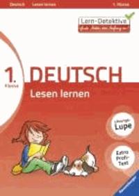 Lern-Detektive: Lesen lernen (Deutsch 1. Klasse).