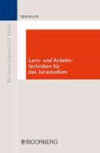 Lern- und Arbeitstechniken für das Jurastudium.