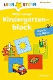 Lernstern: Mein lustiger Kindergartenblock. Rätseln und Malen.