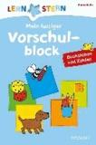 Lernstern: Mein lustiger Vorschulblock. Buchstaben und Zahlen.