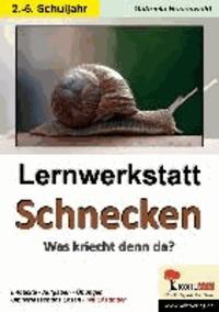Lernwerkstatt Schnecken - Was kriecht denn da? Mit Lösungen.
