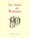 Les Amis de Ramuz - Bulletin des Amis de Ramuz N° 24 : .