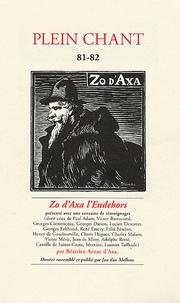 Jan dau Melhau et Béatrice Arnac - Plein Chant N° 81-82, Printemps : Zo d'axa l'Endehors.