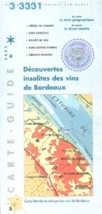 Apparences - Découvertes insolites des vins de Bordeaux - Carte physique et touristique.