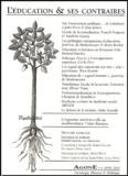 Franck Poupeau et Sandrine Garcia - Agone N° 29-30, 2003 : L'éducation et ses contraires.