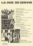 Isabelle Kalinowski et Tassadit Yacine - Agone N° 37, 2007 : La joie de servir.