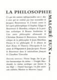 Thierry Discepolo - Agone N° 48, 2012 : La philosophie malgré eux.