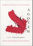 Roger Little et Pierre Grouix - Agotem N° 2, Février 2005 : Poètes francographes ?.