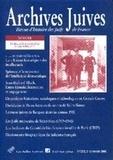 André Kaspi et Perrine Simon-Nahum - Archives juives N° 36, 2e semestre 2 : .