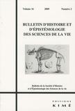 Alain Salter et Charles-T Wolfe - Bulletin d'histoire et d'épistémologie des sciences de la vie Volume 16 N° 2/2009 : .