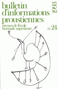 Nathalie Mauriac Dyer - Bulletin d'informations proustiennes N° 24/1993 : .