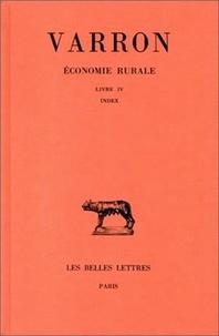 Varron - Economie rurale Livre III, [Index] : Économie rurale - Livre III, [Index.