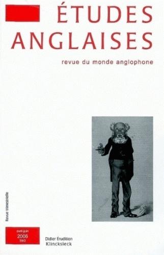 Anne-Marie Miller-Blaise - Etudes anglaises N° 59/2, Avril-juin : .