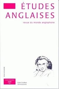 Dominique Goy-Blanquet et Ariane Hudelet - Etudes anglaises N° 59/4, Octobre-déc : .