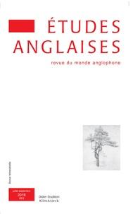 Alexis Tadié - Etudes anglaises N° 69/3, juillet-sep : .