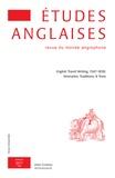 Klincksieck - Etudes anglaises N° 70/2, 2017 : .