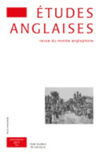 Klincksieck - Etudes anglaises N° 70-3 : .