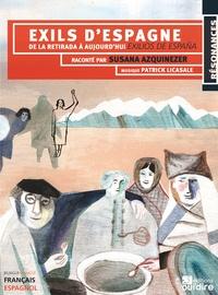 Susana Azquinezer - Exils d'Espagne - De la retirada à aujourd'hui. 2 CD audio