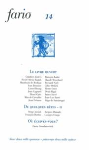 Vincent Pélissier - Fario N°14 Hiver 2014 - Pr : .