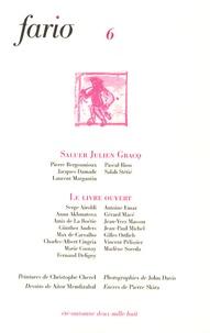 Pierre Bergounioux et Jacques Damade - Fario N° 6, Eté-automne 20 : Saluer Julien Gracq.