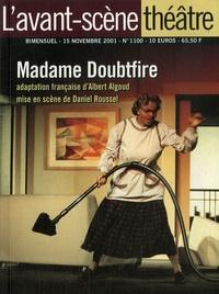 Albert Algoud - L'Avant-scène théâtre N° 1100, 15 novembre : Madame Doubtfire.
