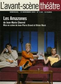 Jean-Marie Chevret - L'Avant-scène théâtre N° 1148, 15 novembre : Les Amazones.