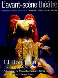 Tirso de Molina - L'Avant-scène théâtre N° 1180, 15 mars 200 : El Don Juan.